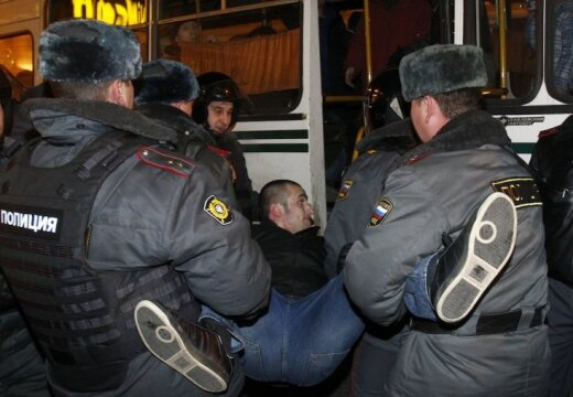 Москва: полиция задержала 569 оппозиционеров