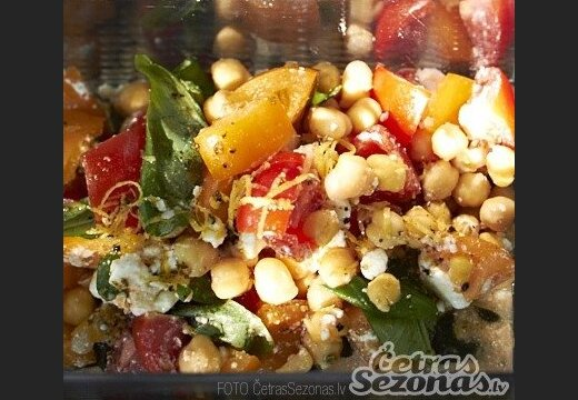 Рецепты постных блюд: салат мексиканский